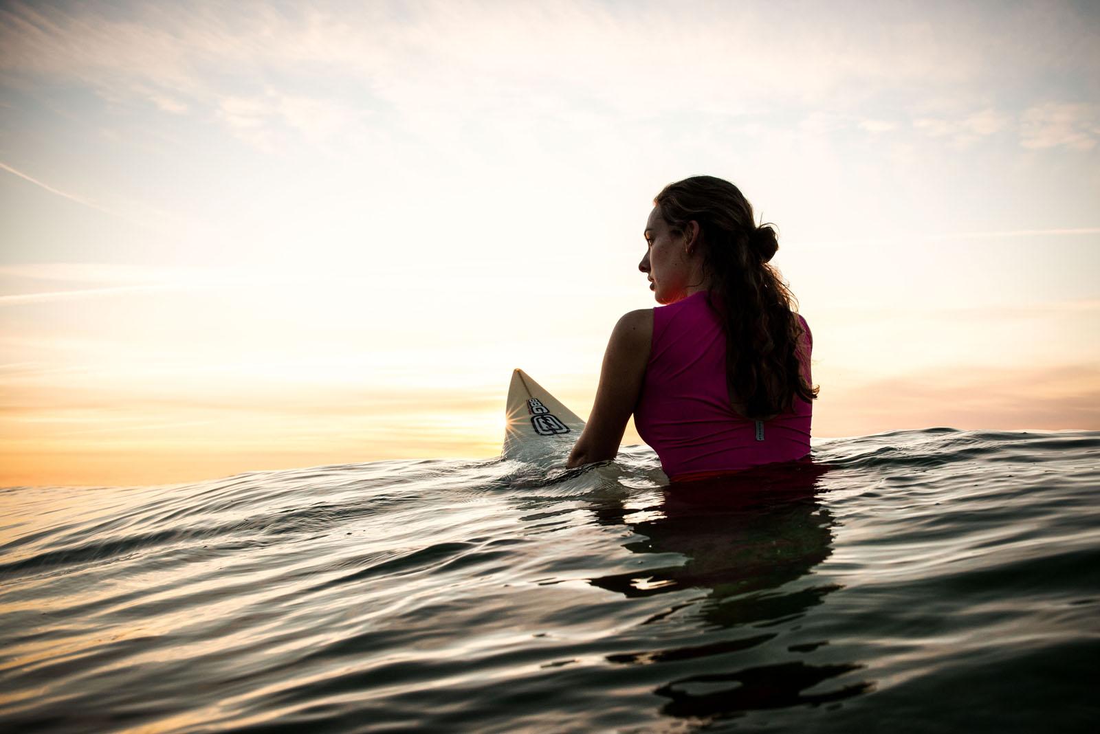 Maria Surfing